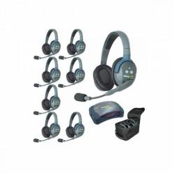 Eartec HUB 8-D - Комплект на 8 абонентов с полнодуплексными беспроводными стереогарнитурами