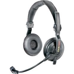 Eartec Slimline double 24G - Средняя гарнитура для использования с беспроводной системой Simultalk 24G