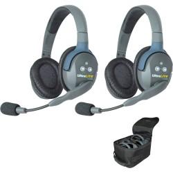 Eartec UltraLITE 2-D - Комплект UltraLITE 2 абонента с гарнитурами 2 Double Headsets