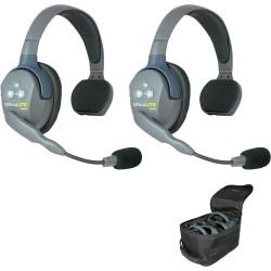 Eartec UltraLITE 2-S - Комплект из 2-х гарнитур Single Headsets
